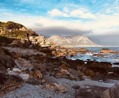 On the southern coast of the Western Cape Hermanus is famous for its whale watching. If you don't spot any whales you can always walk on the rocks enjoy the many restaurants or play a game of chess in the city centre. ______________________ Photo: @chagallaure   #Hermanus #SouthAfrica #sea #rocks #clouds #mountains #whalewatching #oceanviews