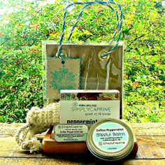 SOAP AND BALMS GIFT SET - SimplyCaprine LLC
