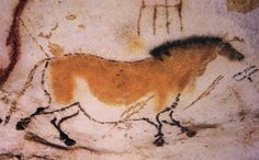 Cave painting of adunhorse at Lascaux. More at http://www.global-awareness.org/resources/globalchange_files/ch04.html