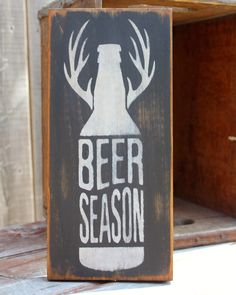 Beer Season sign made by The Primitive Shed, St. Catharines