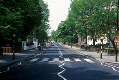 Abbey Road, London, England. Did this of course, as would any Beatles fan, and I have the webcam pics as well as photos to prove it :)