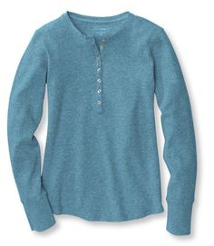 LS top for summer 2014 -Waffle Henley: Tees and Knit Tops | Free Shipping at L.L.Bean
