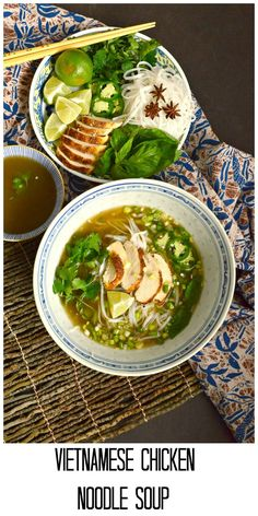 This is How I Cook: Vietnamese Chicken Noodle Soup is simply made from store bought chicken broth and rotisserie chicken. Add in some special seasonings and you have the best soup ever!