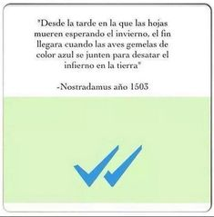 Nostradamus predijo el doble check azul. #humor #risa #graciosas #chistosas #divertidas