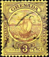 Grenada 1908 Badge of the Colony SG 84 Fine Used SG 84 Scott 72 Other Empire Stamps Here