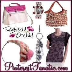 Win a Twisted Orchid Handbag up to $75 RV