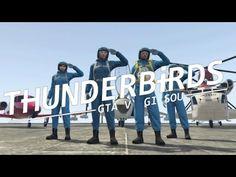 【GTA5】 Thunderbirds OP 再現パロディ&偽装メカ紹介 【PS4】