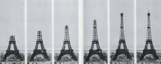 Almost Ready - La tour Eiffel  (Foto: reprodução / http://beineckeroom26.library.yale.edu/2009/12/10/going-up/)