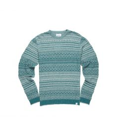Textured mosaic style pattern in a fine gauge knit. - Norse Projects