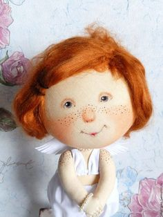 Collectible dolls handmade.  He said that I am beautiful doll based on paintings E.Gapchinskoy.  Valentina Davydova.  Arts and crafts fair.