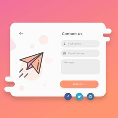 #dailyui #contact #form #ui #design #ux #uiux #uidesign #userinterface #minimal #layout #web #webdesign #graphicdesign #abstract #uisupply… Form Design Web, Login Page Design, Ui Design Patterns, Page Layout Design, Creative Web Design, Website Design Layout, Web Layout, App Design, Formulários Web
