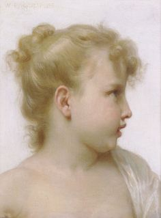 william bouguereau | ファイル:William-Adolphe Bouguereau (1825-1905) - Study - Head Of ...