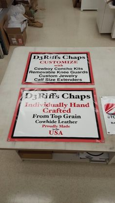 FASTSIGNS of Menomonee Falls banners, made for D3 Rifts Chaps. Check us out at fastsigns.com/452, call us at #262-253-0799, email us at 452@fastsigns.com, or come visit us at W173N9170 St. Francis Drive, suite 1, Menomonee Falls, WI 53051