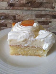 Greek Sweets, Greek Desserts, Greek Recipes, My Cookbook, Cookbook Recipes, Dessert Recipes, Cooking Recipes, Vanilla Cake, Cheesecake