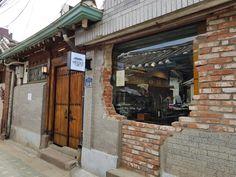 Cafe in Seoul Korea