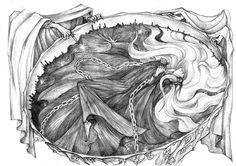 Мелькор в чертогах Мандоса
