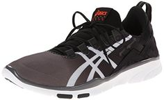 ASICS Womens GELFit Sana CrossTraining Shoe BlackWhiteCoral 11 M US ** Read more  at the image link.
