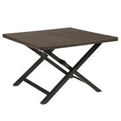 Barrington Wicker Folding Dining Table