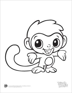 cute and free printablesfrom leapfrog baby animal coloring pages they have some - Super Cute Animal Coloring Pages