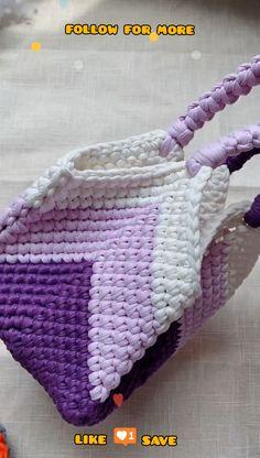 Crochet Beach Bags, Free Crochet Bag, Crochet Pouch, Crochet Bags, Blanket Crochet, Crochet Pencil Case, Crochet Drawstring Bag, Plastic Bag Crochet, Knit Crochet