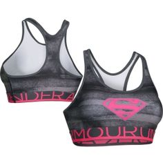 Under Armour Women's Power In Pink Alter Ego Supergirl Sports Bra | DICK'S Sporting Goods