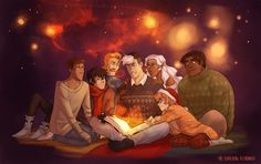 thesearchingastronaut:   shiro's telling stories... -                                         let's go be amazing