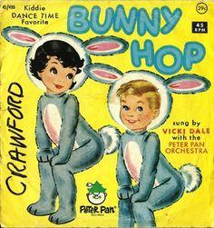 1965 Bunny Hop 45 Record
