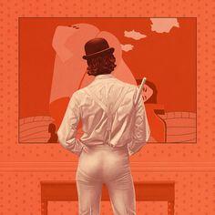 A Clockwork Orange by Boris Pelcer @borispelcerart #aclockworkorange #borispelcer