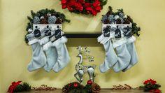DIY Holiday Stocking Holders