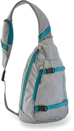 "Patagonia Atom Sling inDrifter Grey.  My favorite new ""purse"".  Incredibly well designed.  From REI."