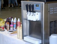 soft serve ice cream machine rental - Google Search