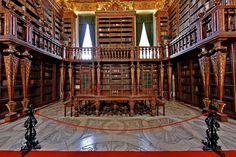 Biblioteca Joanina - http://www.absolutportugal.com/biblioteca-joanina/