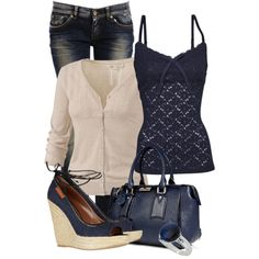 """""""Something Blue 2"""" by hollyhalverson on Polyvore"""