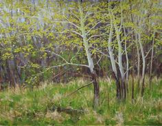 "Original art for sale at UGallery.com | Spring has Sprung by Nathan Hager | $625 | oil painting | 16"" h x 20"" w 