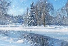 冬の川 White Riverの壁紙 | 壁紙キングダム PC・デスクトップ版