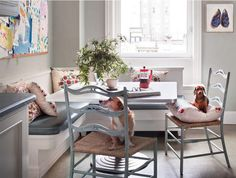 kitchen banquette //desire to inspire - Scott Frances encore