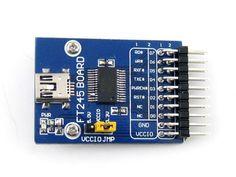 FT245 USB FIFO Board (mini) FT245R FT245RL Evaluation Development Board Module Kit USB TO Parallel FIFO #Affiliate