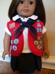 18 Inch Doll Clothes  American Heritage Girls by dressupdollie, $21.00