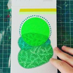 A sneak peek into my last postcard sized abstract collages. I just don't wanna stop anymore! Soon on my @artfinder_com shop. #stabilobossmarker #fluocolors #staedlerpens #abstractcollage #handmadepostcard