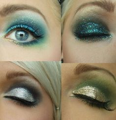 i love how only other girls find this much eye make up attractive :) i love it!