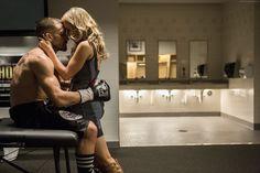 Rachel McAdams Men Boxing Couples in love Hug Blonde girl Southpaw 2015 Movies