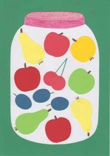 Ovocná koláž Drink Sleeves, Creative