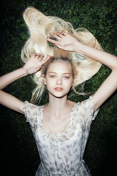 Model: Nastya Kusakina | Photographer: Jens Ingvarsson
