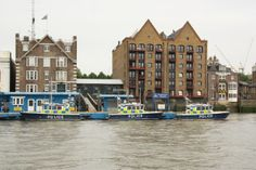 The world's oldest river Police station at Wapping