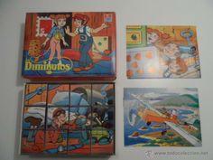 PUZLE ROMPECABEZAS DE CUBOS AÑOS 80 LOS DIMINUTOS JUEGOS DALMAU (Juguetes - Juegos - Puzles)