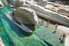 Lavertezzo, Ticino, Switzerland, August 2009. The Valle Verzasca valley offers a spectacular
