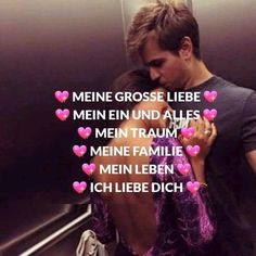 Für Daizo: Mein Engel, Schatz, Gentleman, Vorbild Ich liebe DICH. Because I Love You, Love You So Much, You And I, My Love, Romantic Texts, Beautiful Love Quotes, Sounds Good, Forever Love, Relationship