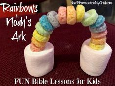 Fun Bible lessons for kids with Bible story snacks to reinforce the lesson. Create your own Bible lessons for kids with any of our Bible story snacks Toddler Bible Lessons, Preschool Bible Lessons, Bible Activities For Kids, Bible Object Lessons, Bible Stories For Kids, Bible Crafts For Kids, Bible Study For Kids, Bible Story Crafts, Church Activities