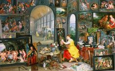 Allegory of Painting  Art Print | by Jan Bruegel The Younger