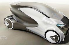 Future Car, Concept, Futuristic Vehicle